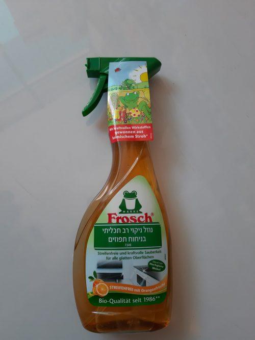 נוזל ניקוי רב תכליתי בניחוח תפוזים