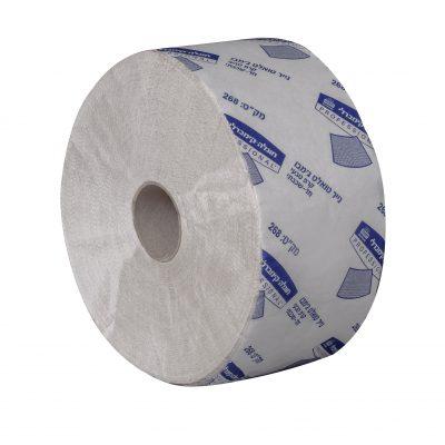 נייר טואלט ג'מבו חד שכבתי קרפ טבעי