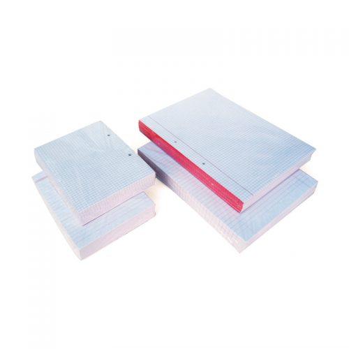 דפדפות A4 שורה, משובץ 40 דף