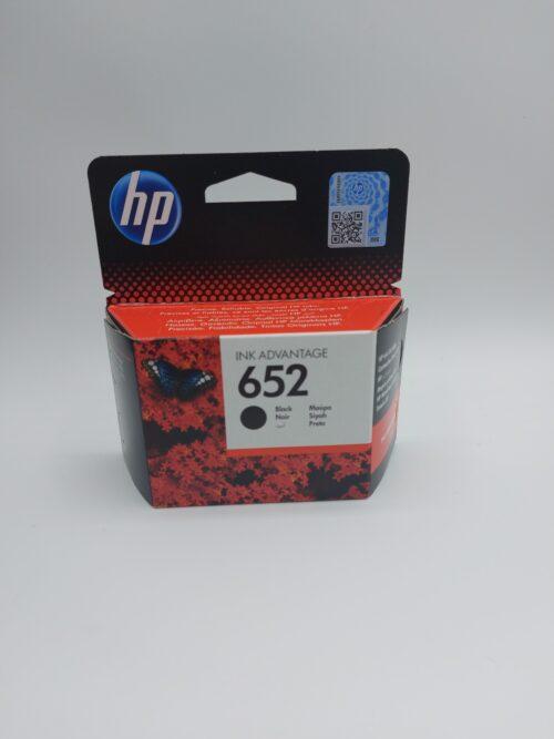 ראש דיו שחור מקורי HP 652 F6V25AE