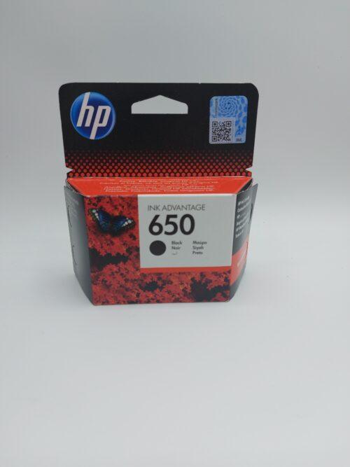 ראש דיו שחור מקורי HP 650 CZ101AE