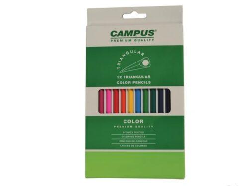 עפרונות צבעוניים CAMPUS