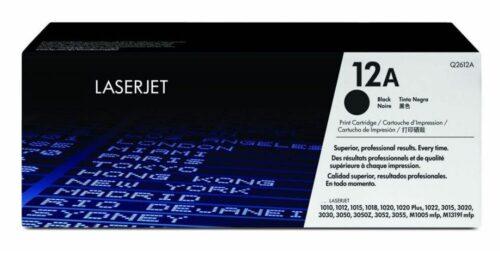טונר שחור HP 12A Q2612D