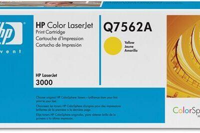 טונר Q7562A HP צהוב מקורי