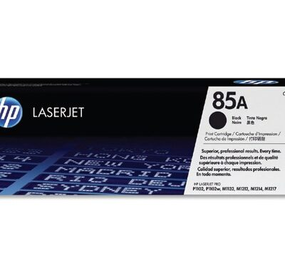 זוג טונר שחור מקורי HP CE285A 85A ב 500 ש''ח כולל משלוח חינם !!!