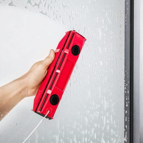 גליידר S1 | מנקה חלונות מגנטי – לחלונות בעלי זכוכית בודדת בעובי בין 2-8 מילימטר