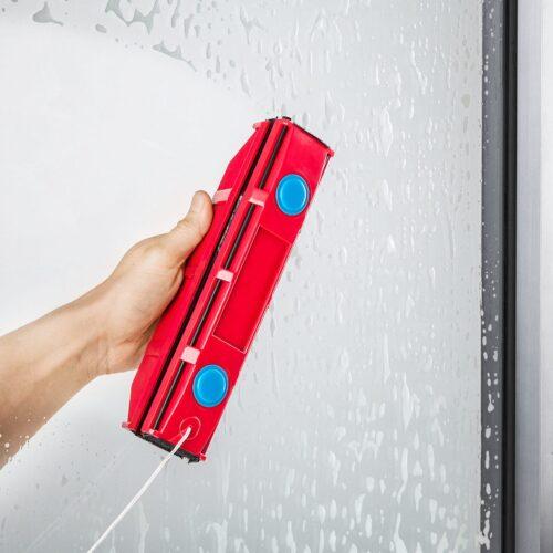 גליידר D2 | מנקה חלונות מגנטי – לחלונות בעלי זכוכית כפולה בעובי בין 8-18 מילימטר