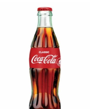 24 בקבוקי זכוכית קוקה קולה / דיאט קוקה קולה / קוקה קולה זירו 350 מ''ל