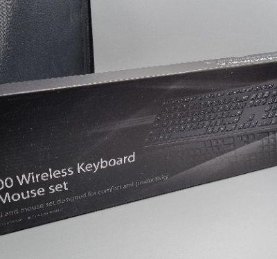סט מקלדת ועכבר אלחוטיים Asus W2500 צבע שחור