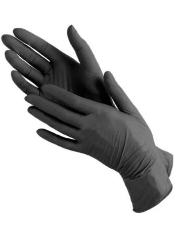 כפפות ויטריל (ויניל+ניטריל) שחורות ללא אבקה 1000 יח' 299 ש''ח כולל משלוח !! 10 חבילות בכל חבילה 100 יח'